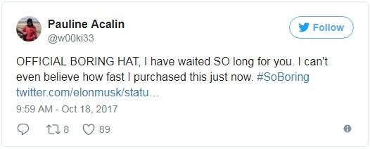 Trong vòng chưa đầy 24 giờ, Elon Musk đã giúp The Boring Company thu về hơn 80.000 USD nhờ... bán mũ - Ảnh 3.