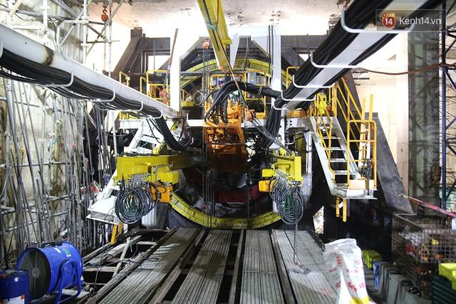 """Robot """"siêu khủng"""" gần 4 triệu USD đã xuyên thủng 781m dưới lòng đất cho nhà ga Metro Sài Gòn  - Ảnh 3."""