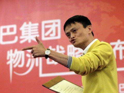 Từ một thầy giáo nghèo, Jack Ma trở thành ông chủ tập đoàn thương mại điện tử Alibaba.