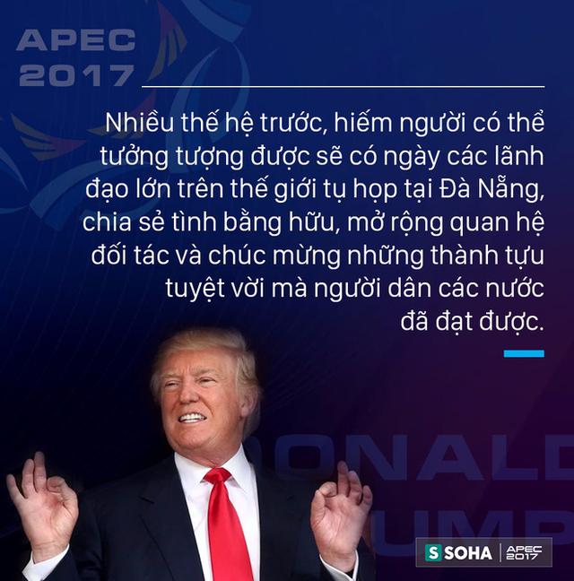 Toàn văn phát biểu của Tổng thống Mỹ Donald Trump tại APEC CEO Summit Việt Nam 2017  - Ảnh 3.