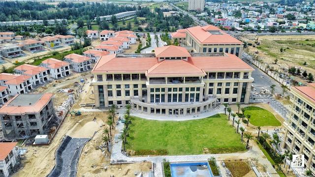 Cận cảnh khu tổ hợp khách sạn nghìn tỷ Sheraton Đà Nẵng nhìn từ trên cao vừa mới đổi chủ - Ảnh 3.
