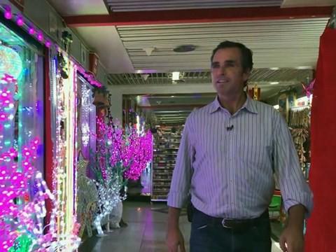 Giá thành các sản phẩm được bày bán tại Khu chợ thương mại quốc tế Nghĩa Ô khá rẻ.