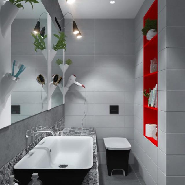Thiết kế nội thất chất lừ của ngôi nhà ống 65m2 cho các gia đình trẻ - Ảnh 21.