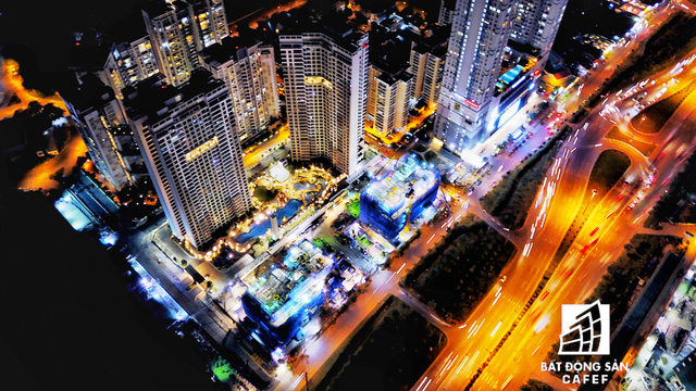 Ảnh: Nhiều cao ốc, khu đô thị mới rực rỡ về đêm khiến trung tâm Sài Gòn đẹp lung linh, huyền ảo - Ảnh 22.