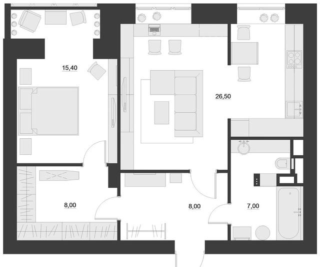 Thiết kế nội thất chất lừ của ngôi nhà ống 65m2 cho các gia đình trẻ - Ảnh 25.