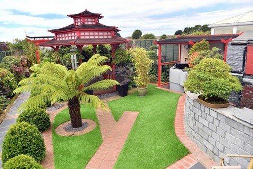Mê mẩn khu vườn Á Đông như thiên đường của ông lão 80 tuổi - Ảnh 4.