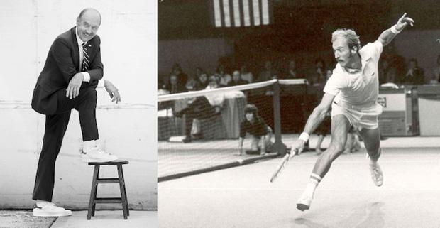 Stan Smith - vận động viên quần vợt số 1 thế giới, giành 7 cúp Grand Slam từ những năm 60 của thế kỷ trước.