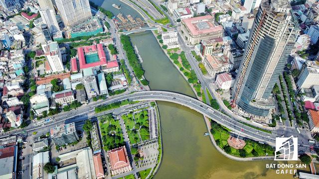 Bến Vân Đồn nhìn từ trên cao, hàng loạt chung cư cao cấp làm thay đổi diện mạo cung đường đắt giá bậc nhất Sài Gòn - Ảnh 4.