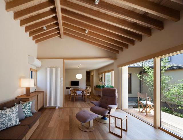 Báo Mỹ ấn tượng với cách bài trí, thiết kế không gian căn nhà tuyệt đẹp của cặp vợ chồng già người Nhật - Ảnh 4.