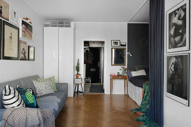 Thiết kế căn hộ 20m2 đẹp đến nao lòng - Ảnh 4.