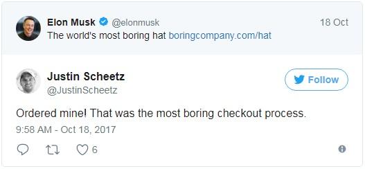 Trong vòng chưa đầy 24 giờ, Elon Musk đã giúp The Boring Company thu về hơn 80.000 USD nhờ... bán mũ - Ảnh 4.