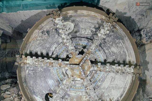 """Robot """"siêu khủng"""" gần 4 triệu USD đã xuyên thủng 781m dưới lòng đất cho nhà ga Metro Sài Gòn  - Ảnh 4."""