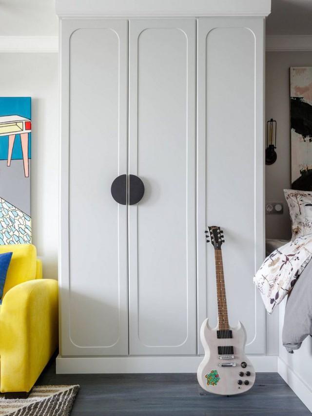 Căn hộ 35m2 đẹp mãn nhãn với nội thất nhiều màu sắc - Ảnh 4.
