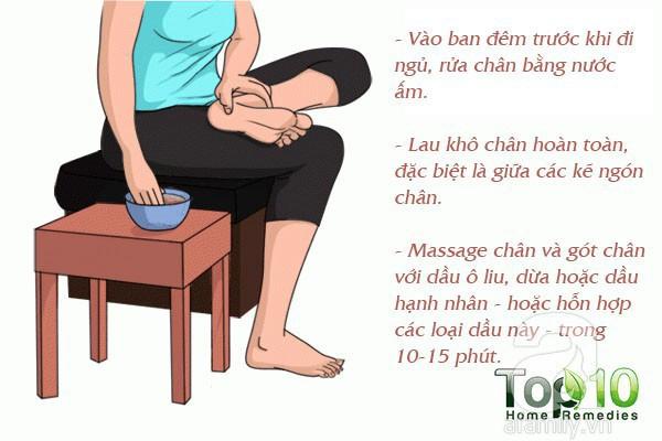 7 mẹo hàng đầu giúp bạn không bị nhiễm trùng và nứt gót chân trong mùa đông này - Ảnh 4.