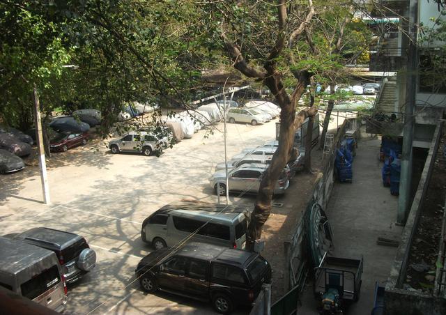 Đa phần diện tích đất của dự án VFC đang được cho thuê lại làm bãi giữ xe