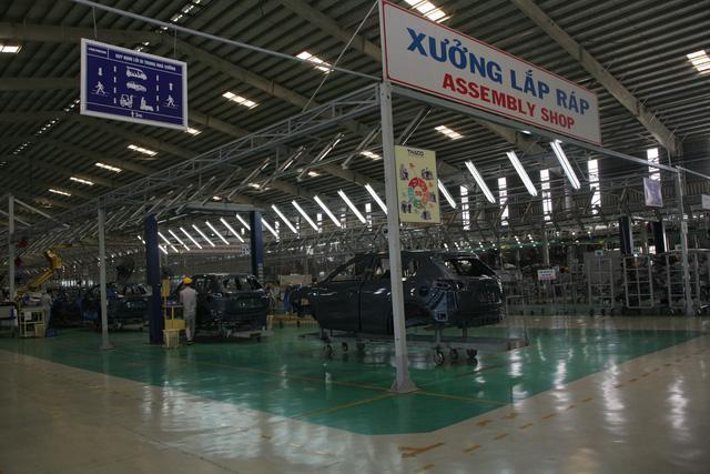 Xưởng lắp ráp ô tô du lịch