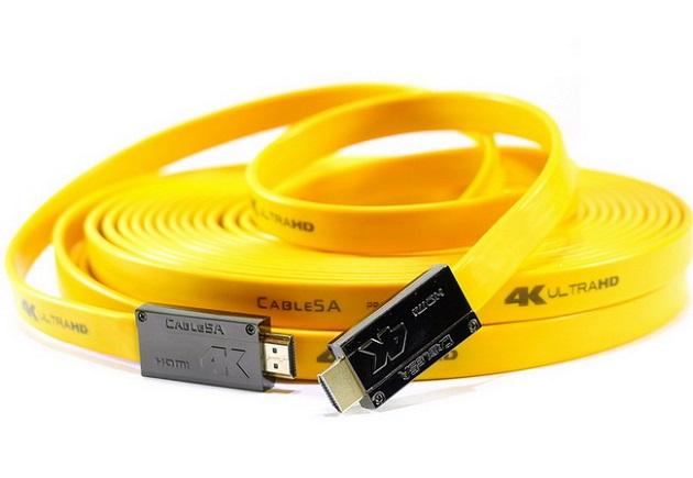 Một sợi cáp HDMI 2.0 hỗ trợ độ phân giải 4K có giá cả triệu đồng