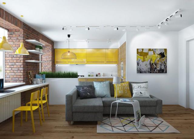 Thiết kế nội thất chất lừ của ngôi nhà ống 65m2 cho các gia đình trẻ - Ảnh 5.