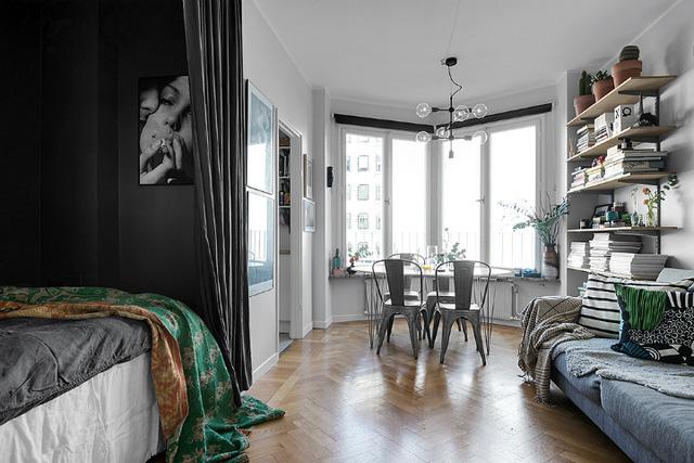 Thiết kế căn hộ 20m2 đẹp đến nao lòng  - Ảnh 5.