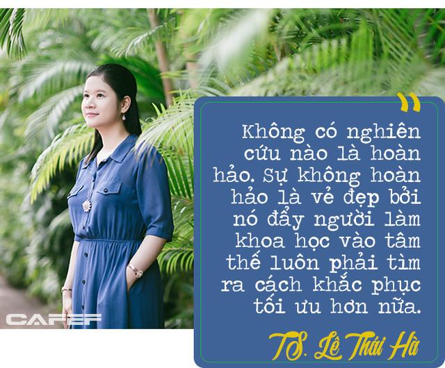 Lê Thái Hà: Nữ giảng viên có thời gian đã đi vào hoạt động luận án Tiến sĩ ngắn kỷ lục ở Đại học số 1 Singapore - Ảnh 5.