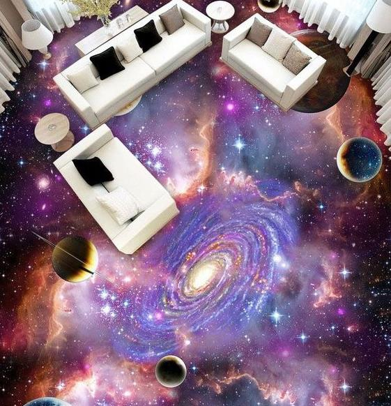 Cả một vũ trụ bao la cũng hiển hiện trong phòng khách nhà bạn.