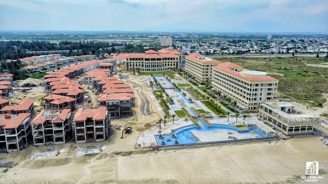 Cận cảnh khu tổ hợp khách sạn nghìn tỷ Sheraton Đà Nẵng nhìn từ trên cao vừa mới đổi chủ - Ảnh 5.