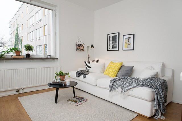 Phong cách thiết kế nội thất Bắc Âu (Scandinavia) ấn tượng trong căn hộ hơn 40m2  - Ảnh 5.