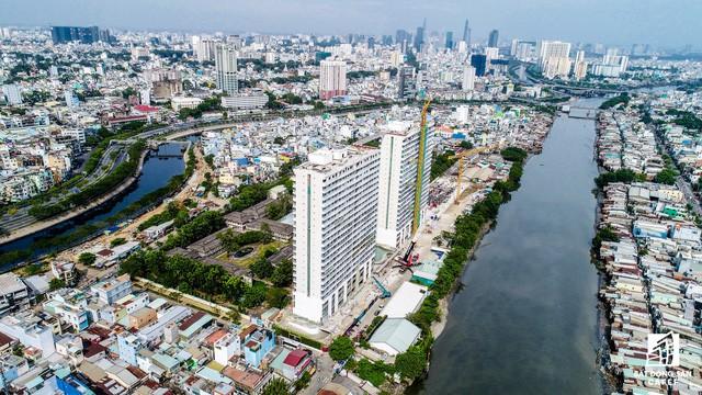 Cận cảnh tiến độ loạt dự án có sức hút lớn dọc kênh rạch Sài Gòn - Ảnh 5.