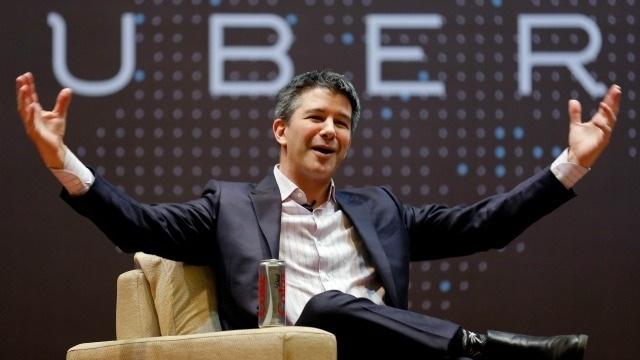 CEO Uber - Travis Kalanick.