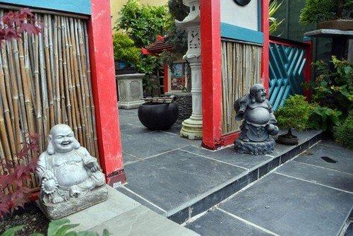 Mê mẩn khu vườn Á Đông như thiên đường của ông lão 80 tuổi - Ảnh 6.