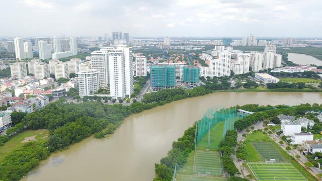 Diện mạo BĐS khu Nam Sài Gòn nhìn từ trên cao đang thay đổi chóng mặt  - Ảnh 6.