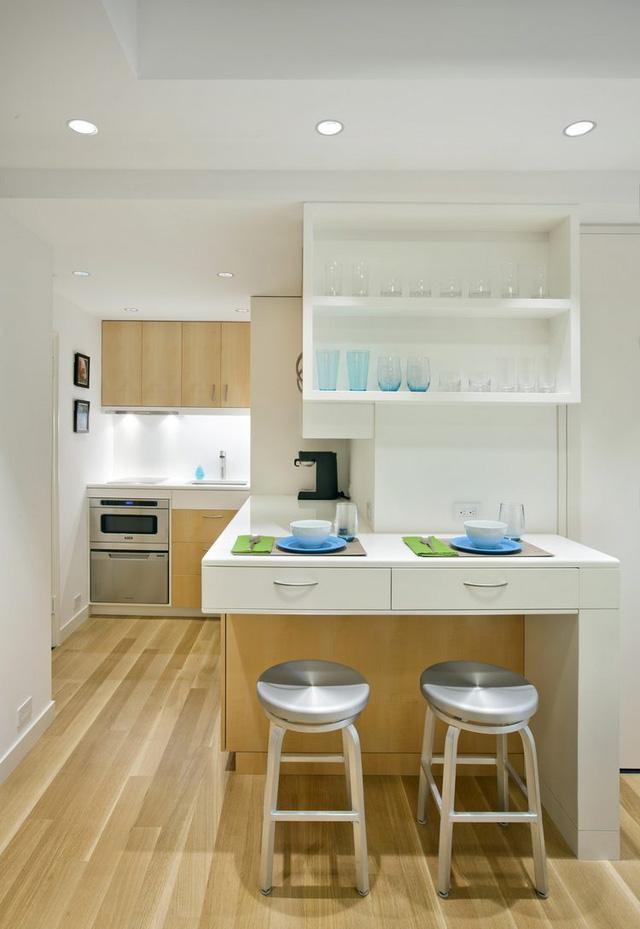 Thiết kế nội thất căn hộ 32m2 chất lừ cho gia đình trẻ - Ảnh 6.