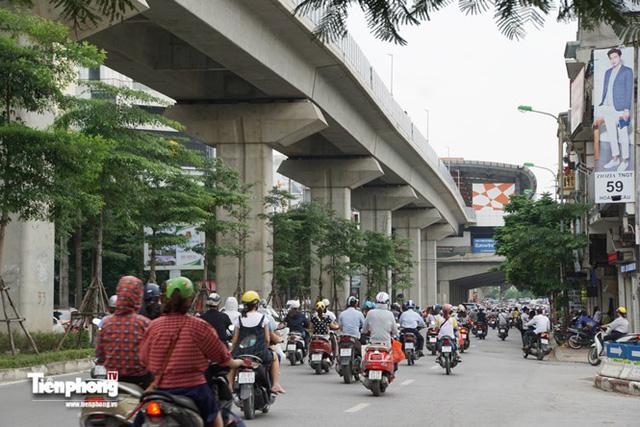 Hình ảnh dự án đường sắt Cát Linh - Hà Đông trước ngày chạy thử - Ảnh 6.