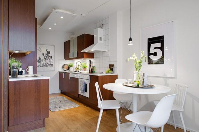 Phong cách thiết kế nội thất Bắc Âu (Scandinavia) ấn tượng trong căn hộ hơn 40m2  - Ảnh 6.