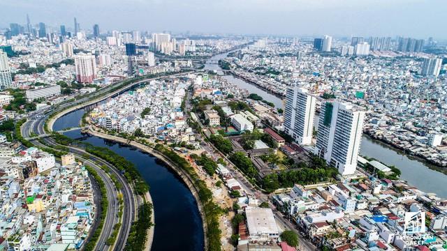 Cận cảnh tiến độ loạt dự án có sức hút lớn dọc kênh rạch Sài Gòn - Ảnh 6.