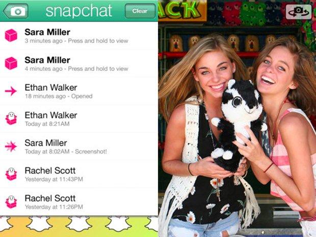 Ứng dụng Snapchat hồi mới đổi tên