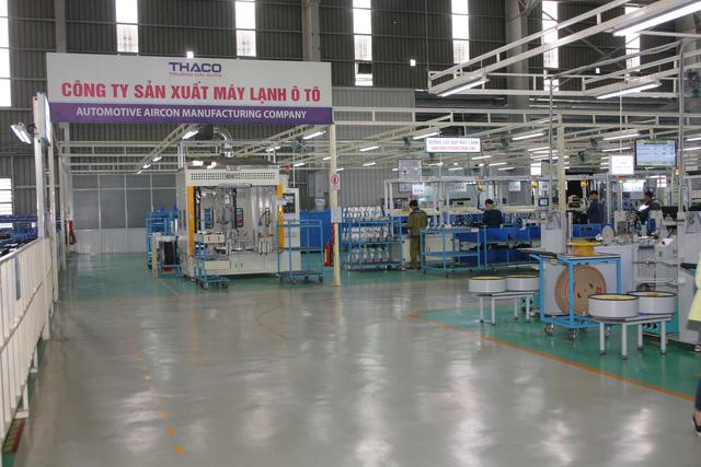 Nhà máy chuyên sản xuất và lắp ráp các loại máy lạnh ô tô dựa trên hệ thống dây chuyền, vật tư, linh kiện CKD được nhập từ nhà sản xuất máy lạnh danh tiếng tại Hàn Quốc.
