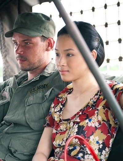 Cô có vai diễn đầu tay trong phim Người lính vào năm 2011 - bộ phim truyền hình Nga có phần lớn bối cảnh tại Việt Nam.