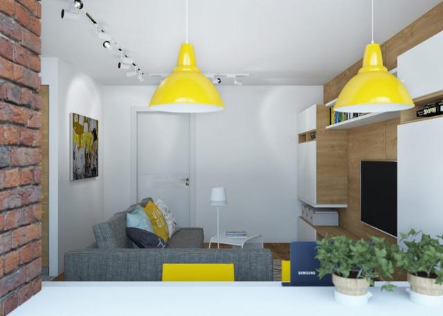 Thiết kế nội thất chất lừ của ngôi nhà ống 65m2 cho các gia đình trẻ - Ảnh 7.