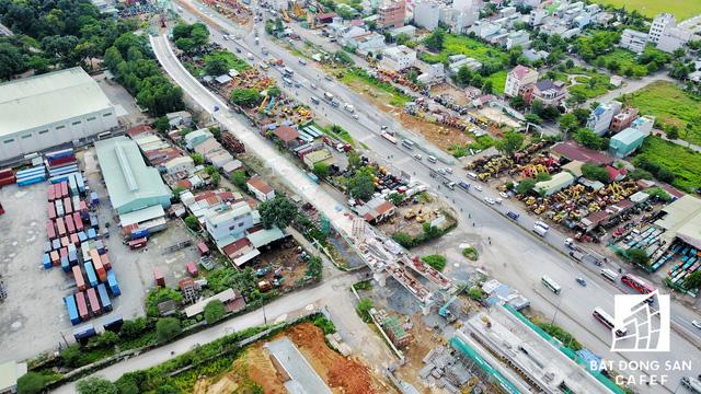 Tuyến Metro số 1 Bến Thành - Suối Tiên nhìn từ trên cao - Ảnh 7.