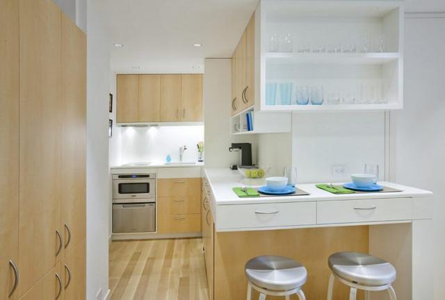 Thiết kế nội thất căn hộ 32m2 chất lừ cho gia đình trẻ - Ảnh 7.