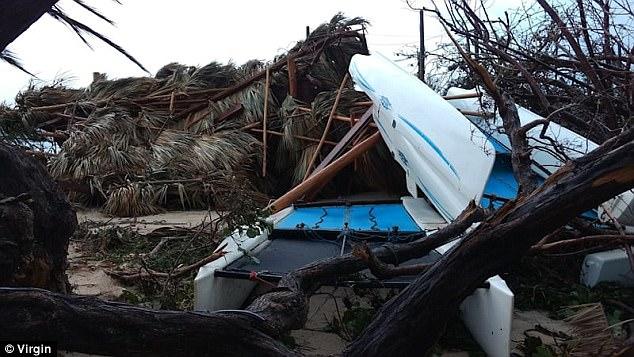 Nhà của tỷ phú Richard Branson tan tành vì siêu bão Irma - Ảnh 7.