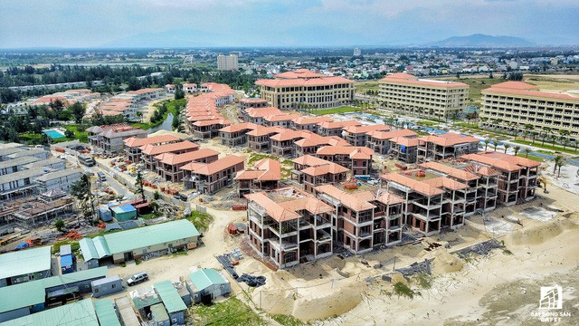 Cận cảnh khu tổ hợp khách sạn nghìn tỷ Sheraton Đà Nẵng nhìn từ trên cao vừa mới đổi chủ - Ảnh 7.