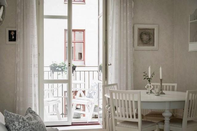 Căn hộ chỉ 50m2 được thiết kế tông màu trắng, đem lại không gian sống rộng rãi và sang trọng - Ảnh 7.