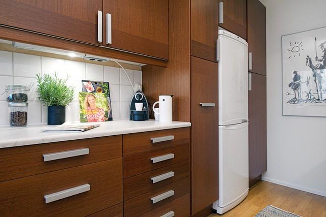 Phong cách thiết kế nội thất Bắc Âu (Scandinavia) ấn tượng trong căn hộ hơn 40m2  - Ảnh 7.