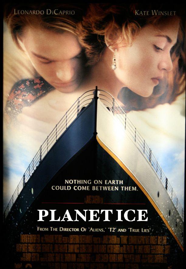 Titanic từng có tên gọi là Planet Ice