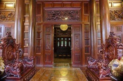 Thiết kế bên trong của ngôi nhà.