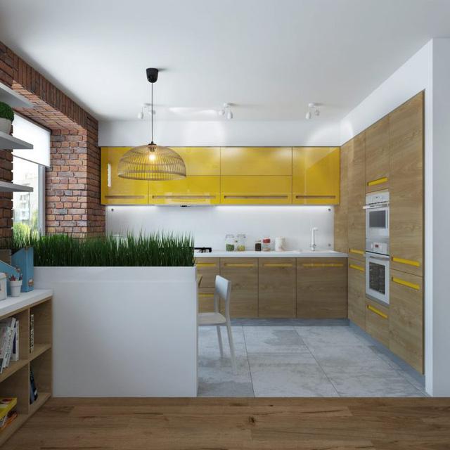 Thiết kế nội thất chất lừ của ngôi nhà ống 65m2 cho các gia đình trẻ - Ảnh 8.