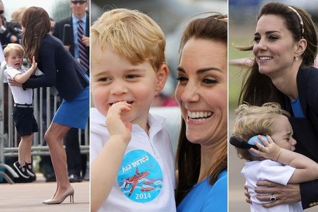 Cách công nương Kate Middleton khéo léo xử lí cơn ăn vạ của con y như một chuyên gia tâm lý - Ảnh 8.
