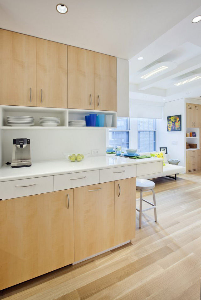 Thiết kế nội thất căn hộ 32m2 chất lừ cho gia đình trẻ - Ảnh 8.